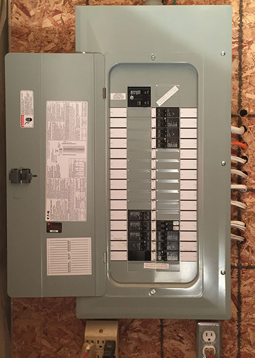 MP Electric performs circuit breaker panel installations