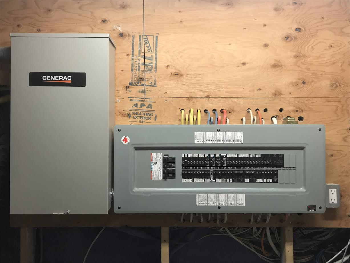 MP Electric performs generator panel upgrades and installations in Toronto homes and condos